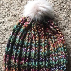 Crochet winter hat